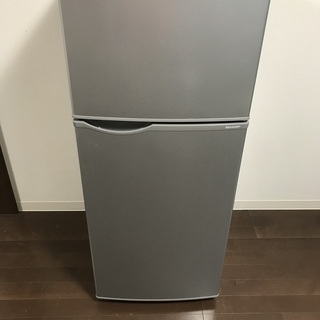 SHARP冷蔵庫118L(SJ-H12B)2017年製