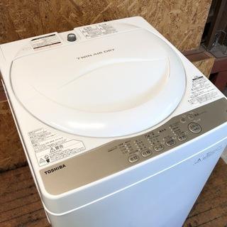 【管理KRS226】TOSHIBA 2016年 AW-4S3 4.2kg 洗濯機 - 流山市