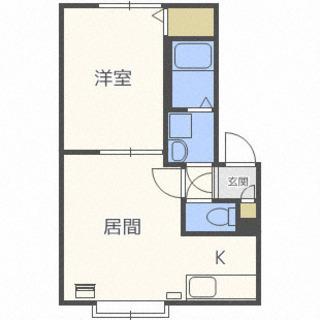 【北区☆1LDK】個別車庫・エアコン完備・ネット無料(^_-)-☆