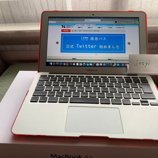 【充放電回数少】APPLE MacBook Air MD224J/A