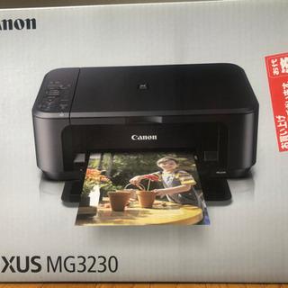 【新品未開封】Canon キヤノン PIXUS MG3230 無線LAN対応 インクジェットプリンター複合機の画像