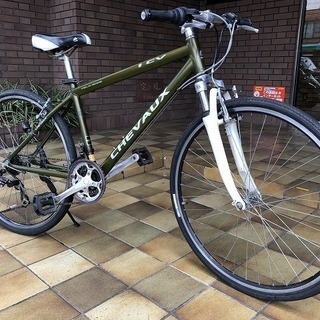 【中古】CHEVAUX  クロスバイク 3×7 430mm