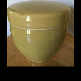 美品‼️陶器製のきれいなキャニスター ハーブ調味料入れ