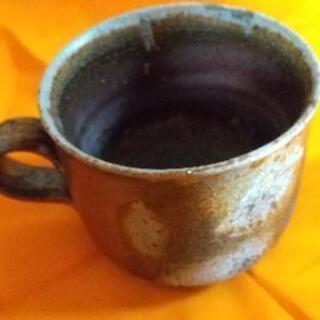 備前焼 コーヒーカップ 作家不明