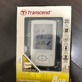 新品未使用品 未開封 MP3プレーヤー トランセンド