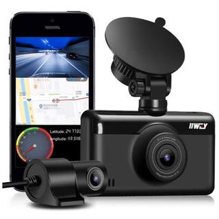 新品 ドライブレコーダー GPS WiFi 前1440P+後1080P