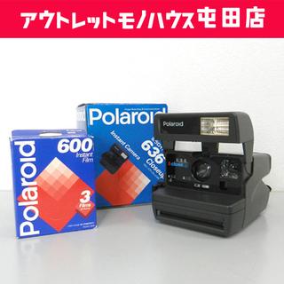 Polaroid 636 クローズアップレンズ付き ポラロイドカ...