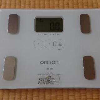 オムロン 体重計 ※商品説明を良くお読み下さい