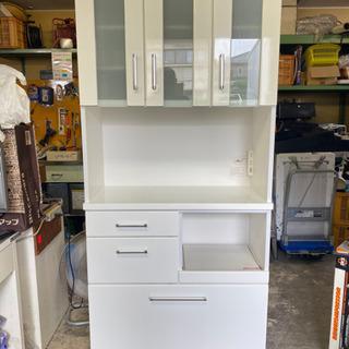 ニトリ キッチンボード 食器棚 ダイニング インテリア 収…