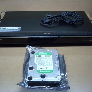 訳あり 3D対応1TBハードディスク搭載ブルーレイレコーダー