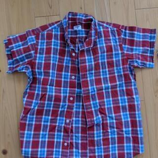 男児150 ユニクロ半袖シャツ