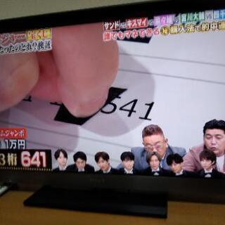 ソニーブラビア40インチ液晶テレビ