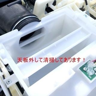 札幌近郊送料無料◇2018年製 11kg ドラム式洗濯機 シャープ(SHARP) ES-G110-TL - 家電