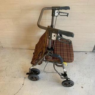 【介護保険対応】歩行器 島製作所 シンフォニーSP ブラウン