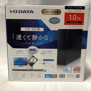 【新品未使用】USB外付ハードディスク 1TB IO DATA製