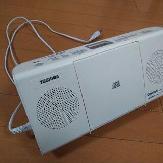 美品 東芝CDラジオ(箱なし・取説有り)