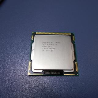 LGA1156 CPU i7-875k 中古