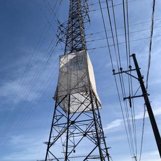 鉄塔などの塗装工事 高所でのお仕事