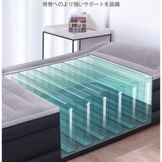 【新品未使用】lエアーベッド 空気ベッド 2020年最新 ピロー...