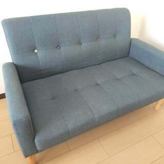 【決まりました】可愛い二人掛けソファー