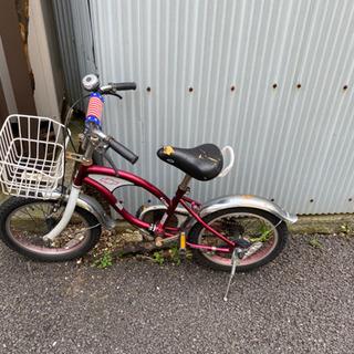 かっこいい、目立つ、子供用自転車  4歳から6歳用くらい