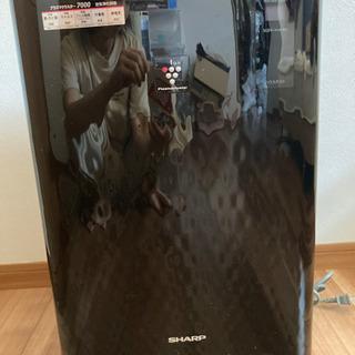 SHARP 空気清浄機(ブラック)2010製