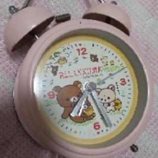 リラックマ 置時計 ジャンク