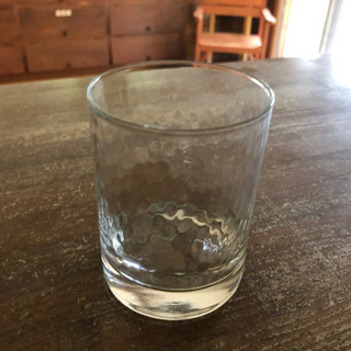 クリアガラスのグラス11個セット