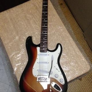 ギター ストラト ネックトラ杢値下げしました
