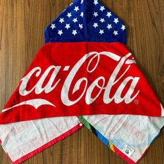 フードタオル コカ・コーラ 3枚セット プール&海