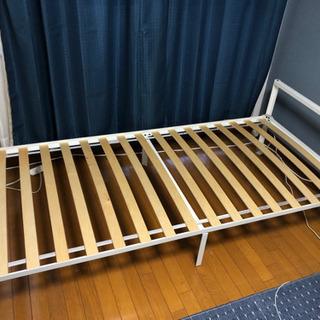 IKEA シングルベッド マットレス付き 別売可