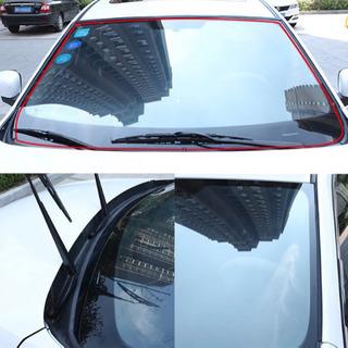 【新品】フロントガラス静音化 遮音モール ウェザーストリップ 風切り音防止テープ 2m - 車のパーツ