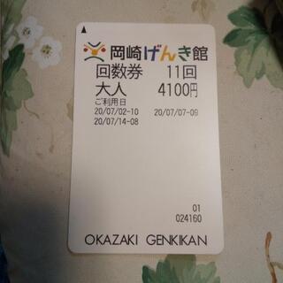 岡崎げんき館の回数券