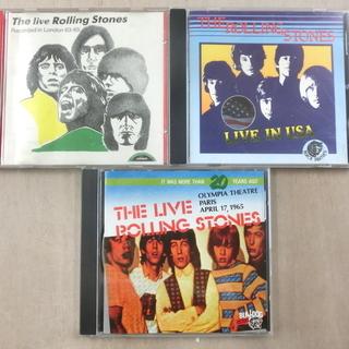 ローリング・ストーンズ/初期のライブCD三種