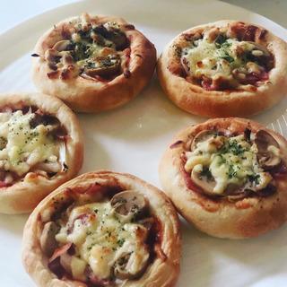 ピザパン作り