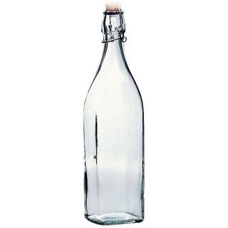【新品】ガラス密閉ボトル 1L スイングボトル