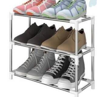 新品 シューズラック 靴棚 下駄箱 靴ラック 玄関収納 組み立て簡単
