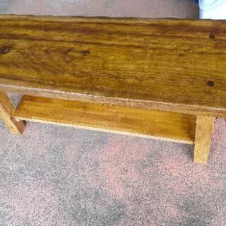 値下げしました【一枚板】天板厚60mm 木製テーブル