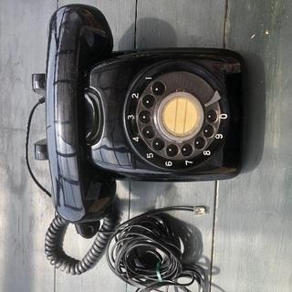 昔の黒電話