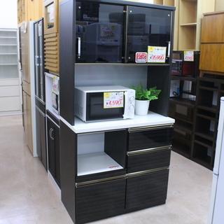 参考定価 ¥69,800 2面レンジボード 食器棚 幅92cm☓...