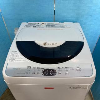 🌼激安 最安値 オススメ‼️SHARP洗濯機ES-F45NC-W🌼