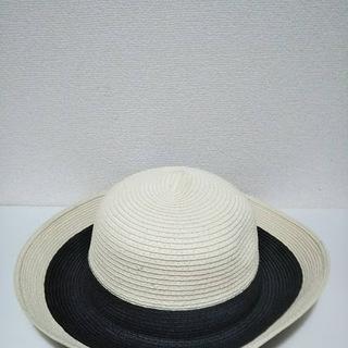 婦人帽(生成り・黒)