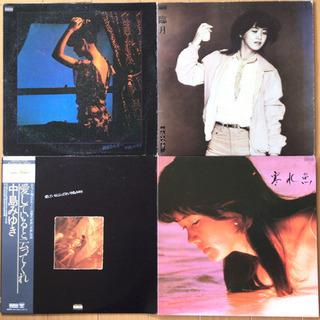 中島みゆき LP レコード 4枚セット