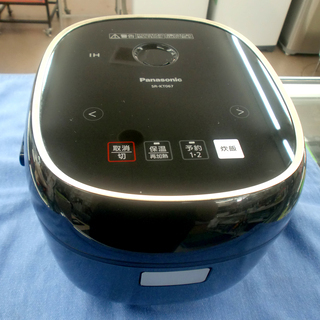 パナソニック IHジャー炊飯器 3.5合炊き SR-KT067 ...