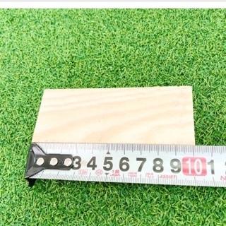 【角材 幅4cm×厚1.7cm×長10cm】 DIY DIY材料...