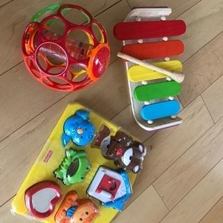 0〜2歳おもちゃセットお譲りしますの画像