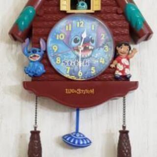 スティッチの時計(動作確認済み)