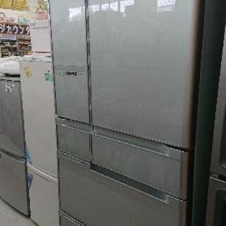 日立 6ドア冷凍冷蔵庫 R-C6700 (2013年製)