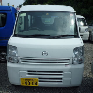 (ID2304)軽バン専門店在庫50台 マツダ スクラム 新型 ...