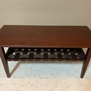 Natural Wood Brown TV Table/B…